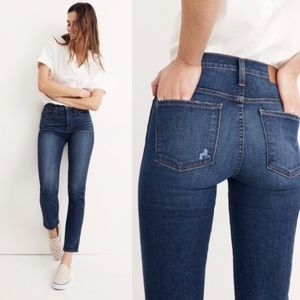 New Madewell Slim Straight Jeans Size 28
